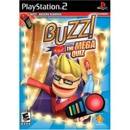 Buzz: The Mega Quiz Software Only For PlayStation 2 PS2 Trivia - EE684142