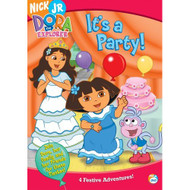 Dora The Explorer It's A Party On DVD With Fatima Ptacek - EE684153