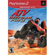 ATV Offroad Fury PS2 For PlayStation 2 Flight With Manual And Case - EE684374