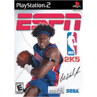 ESPN NBA 2K5 For PlayStation 2 PS2 Basketball With Case - EE684383