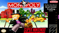 Monopoly For Super Nintendo SNES Strategy - EE684447