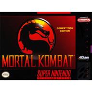 Mortal Kombat For Super Nintendo SNES Fighting - EE684741