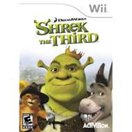 Shrek The Third For Wii With Manual and Case - EE684953