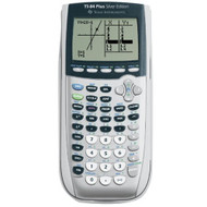 Texas Instruments TI-84 Plus Silver Edition Graphing Calculator Silver - ZZ684973