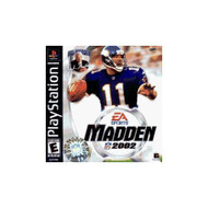 Madden NFL 2002 For PlayStation 1 PS1 Football With Manual and Case - EE685213