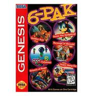 6 Pak For Sega Genesis Vintage - EE685734