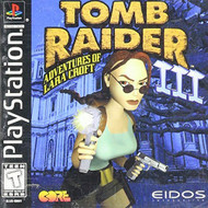 Tomb Raider III: Adventures Of Lara Croft For PlayStation 1 PS1 With - EE686347