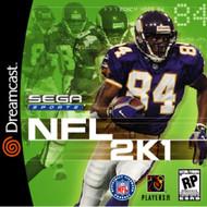 NFL 2K1 For Sega Dreamcast Football - EE686678