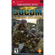 Socom US Navy Seals Fireteam Bravo 2 Sony For PSP UMD Shooter - EE686938