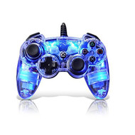 Afterglow AP.1 Controller For PS3 Blue For PlayStation 3 Clear PL6302 - EE687714