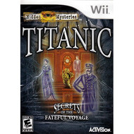 Hidden Mysteries: Titanic By Activision For Wii With Manual and Case - EE688157