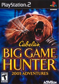 Cabela's Big Game Hunter 2005 Adventures For PlayStation 2 PS2 - EE688331