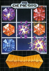 Columns For Sega Genesis Vintage Puzzle - EE688367