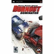 Burnout Dominator Sony For PSP UMD Racing With Manual and Case - EE688987