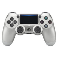 Dualshock 4 Wireless Controller For PlayStation 4 Silver White Gamepad - EE689416
