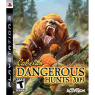 Cabela's Dangerous Hunts '09 For PlayStation 3 PS3 Shooter - EE689609
