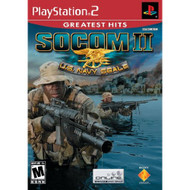 Socom II US Navy Seals For PlayStation 2 PS2 With Manual and Case - EE690402
