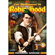 The Adventures Of Robin Hood Vol 6 On DVD With Richard Greene - EE690446