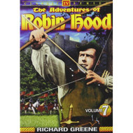 The Adventures Of Robin Hood Vol 7 On DVD With Richard Greene - EE690447
