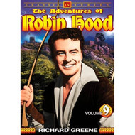 The Adventures Of Robin Hood Vol 9 On DVD With Richard Greene - EE690450
