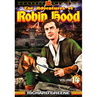 Adventures Of Robin Hood Volume 14 On DVD With Richard Greene - EE690456