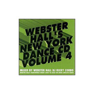 Webster Hall Nyc Dance 4 By New York Dance On Audio CD Album 2000 - EE690568