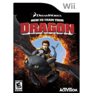 How To Train Your Dragon For Wii With Manual and Case - EE691245