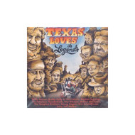 Texas Loves It's Legends By Various On Audio CD Album - EE691326