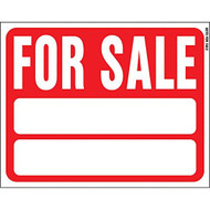 """Sign Red 15"""" X 19"""" For Sale Auto Plastic - EE690975"""