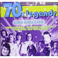 70S Legends Girls Girls Girls On Audio CD Album - EE691525