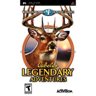 Cabela's Legendary Adventures Sony For PSP UMD Shooter - EE692597