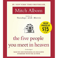 The Five People You Meet In Heaven By Albom Mitch Albom Mitch Reader - EE693199