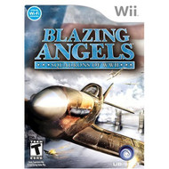 Blazing Angels: Squadrons Of WWII For Wii Flight With Manual and Case - EE693509