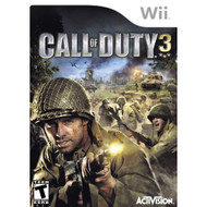 Call Of Duty 3 For Wii COD Shooter With Manual and Case - EE693513