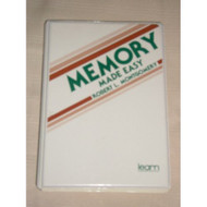 Memory Made Easy 3 Audiocassettes Plus By Robert L Montgomery On Audio - EE693820
