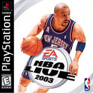 NBA Live 2003 For PlayStation 1 PS1 Basketball - EE694079