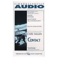 Contact Movie Tie-In Cassette By Carl Sagan Jodie Foster Reader On - EE694718