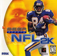 DC Sports NFL 2K For Sega Dreamcast Football With Manual And Case - EE694772