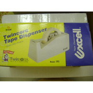 Black Excell Twincore Tape Dispenser 1 Inch And 3 Inch Core - EE695118