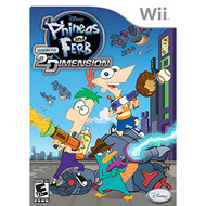 Phineas And Ferb: Across The 2nd Dimension For Wii Disney - EE695159