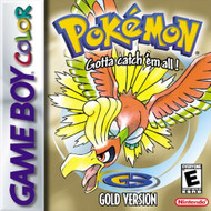 Pokemon Gold Game On Gameboy - EE695237