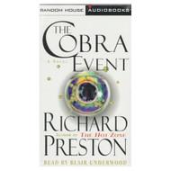The Cobra Event A Novel By Richard Preston On Audio Cassette - EE695674