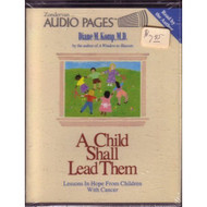 Child Shall Lead Them By Diane M Komp On Audio Cassette - EE696135