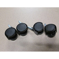 Sterilite Replacement Casters Set Of 4 By Sterilite - ZZ696151