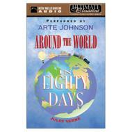Around The World In Eighty Days By Verne Jules Johnson Arte Narrator - EE696209