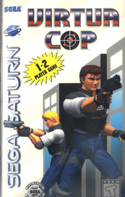 Virtua Cop For Sega Saturn Vintage Shooter - EE696392