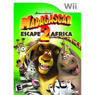 Madagascar 2: Escape 2 Africa For Wii With Manual And Case - EE696690