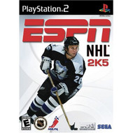 ESPN NHL 2K5 For PlayStation 2 PS2 Hockey With Manual and Case - EE696802