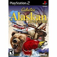 Cabelas Alaskan Adventures For PlayStation 2 PS2 Shooter With Manual - EE696813