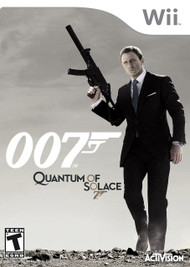 James Bond 007: Quantum Of Solace For Wii Shooter With Manual and Case - EE697519